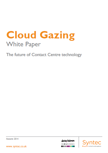 cloud gazing white paper cover